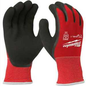 Milwaukee 48 22 8912 Cut Level 1 Insulated Gloves L New