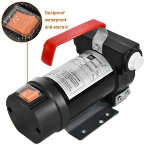 Durable 155 W Electric Diesel Oil And Fuel Transfer Extractor Pump Motor