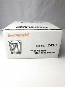 Baumanometer Nylon Coated Steel Wire Basket 2420 New