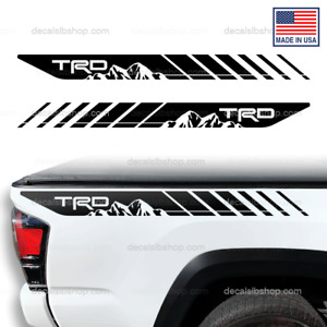 Trd Off Road Sport Decals Mountain Bedside Toyota Tacoma Truck 4x4 Vinyl Decal 2