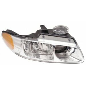Fits 2000 Chrysler Town Country Headlight Assembly Passenger Side Ch2503133