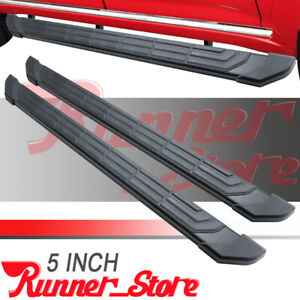 For 19 21 Chevy Silverado sierra Crew Cab 5 Side Step Nerf Bar Running Board Fr