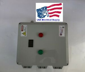 Zhq3 63 3p Automatic Transfer Switch Ul Enclosure With Light And Voltmeter 63a