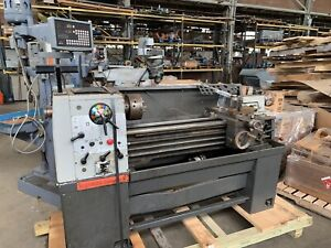 Clausing Colchester 13 X 40 Tool Room Lathe With Shars Sds6 2v Dro