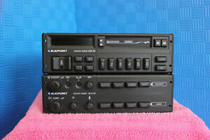 Blaupunkt Vintage Bus Set Coach Audio Sqr 08 And Bca 08 Top Condition Untested