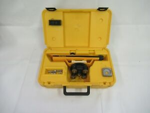 Berger Instruments Transit Level Model 135 With Hard Case