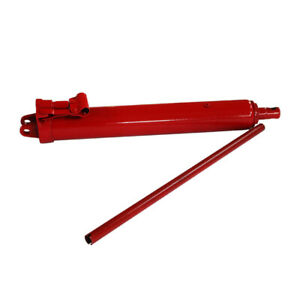 Brand New Long Ram Hydraulic Jack 12 Tons 25 1 44 Lifting Steel Material Usa