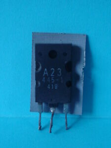 A23 445 1 Horizontal Output Transistor W Damper Diode Hot Used In Many Tv Sets