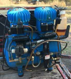 Jun Air Model 12 40 Quiet Running Air Compressor For Industrial Or Medical Use