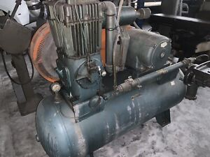 1964 Quincy 350 Air Compressor 10 Hp 3 phase 120 Gallon Tank