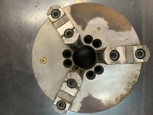 Bison 10 3 jaw Self centering Lathe Chuck A Series Front Mount