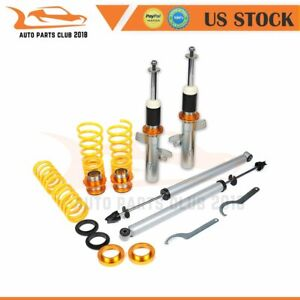 Coilovers Struts For Ford Focus Mk2 2004 2010 Adj Height Suspension Springs Kits