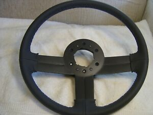 82 89 Camaro Iroc Z28 Leather Steering Wheel Restored To Show Condition Perfect