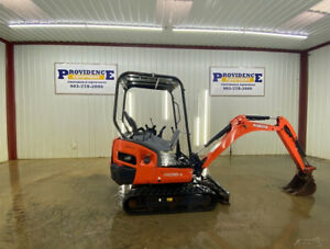 2016 Kubota Kx018 4 Mini Track Excavator With Quick Attach Bucket