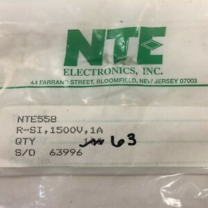 63 Nte558 Silicon Pin Diode Uhf vhf Detector Lot Of 63