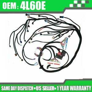 Fit For Ls1 Standalone Wiring Harness For 4l60e 1997 2006 Engine 4 8 5 3 6 0