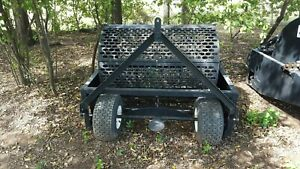 Horses 24 Cubic Foot Rotary Manure Spreader No Chains No Pto hook Up And Go