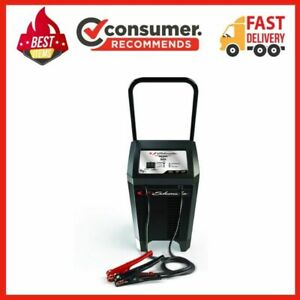 12v Wheeled Fully Automatic Battery Charger And 40 200a Engine Starter Sc1285