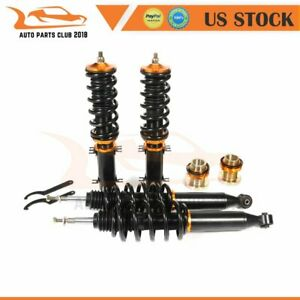 For 98 05 Vw Golf Jetta Mkiv Coilovers Adjustable Height Coilover Shocks Struts