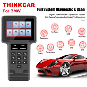 For Bmw Throttle Diagnostic Abs Srs Dpf Oil Reset Scanner Code Reader Launch