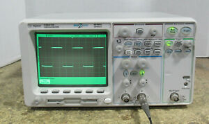 Agilent 54621a 60mhz Portable Two Channel Oscilloscope W N2757a Gpib Interface