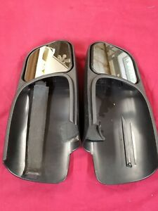 Divisione Gsplastic Towing Rearview Cipa Mirrors 4 5 X 5 125 For Chevy Gmc