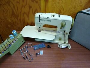 Bernina 731 Heavy Duty Sewing Machine Upholstery Leather Denim Serviced