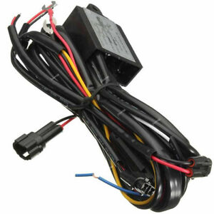 Universal Led Daytime Running Light Drl Relay Harness Automatic On Off Switch