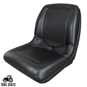Black High Back Replacement Seat For John Deere Gator For Pn Vg11696