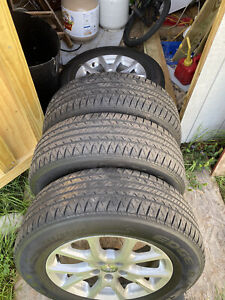 17 225 65 Jeep Cherokee Latitude 2015 Wheels Oem Rims Tires