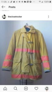 Globe Firegear Vtg Turnout Jacket Xl Must Have