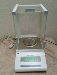 Mettler Toledo Ms104s 03 Analytical Balance Scale 120g 0 1mg W Power Adapter