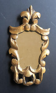 Vintage Carved Mirror Gold Gilt Antique Ornate Wall Florentine Style Lots Listed