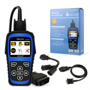 Heavy Duty Diesel Truck Car Diagnostic Scanner Tool Obd2 Code Reader Dpf Regen