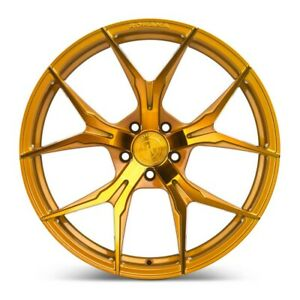 Rohana Wheels Rim Rfx5 20x10 5x114 40et Gloss Gold