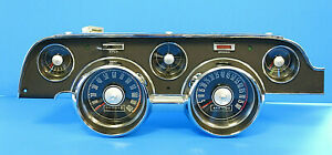 1967 Ford Mustang Oem Tach Dash Replacement Conversion Gauge Cluster 67 2020