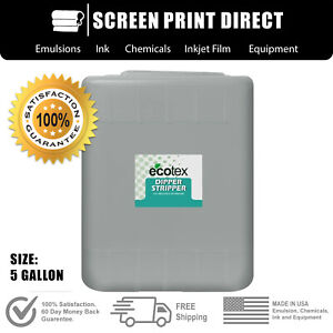 Ecotex Dip Tank Solution 2 In 1 Emulsion Ink Remover Fro Screen Printing