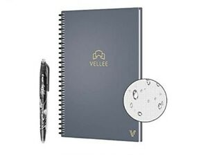 New In Box Vellee Book Smart Erasable Notebook Auto scan Notebook