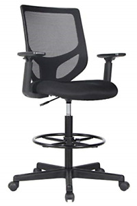 Drafting Chair Tall Office Chair For Standing Desk Drafting Mesh Table Chair And