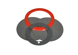 4pc Nathan Airchime Train Air Horn Diaphragm Kit For K Series Bell W Cushion