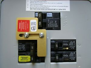 Sie p1 Murray Siemens Generator Interlock Kit 100 Amp Panel Listed