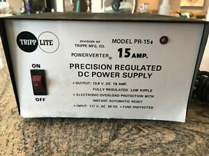Tripp Lite Powerverter 15 Amp Regulated 13 8v Dc Power Supply