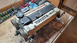 Toyota 4age 16v small Port Cylinder Head Complete