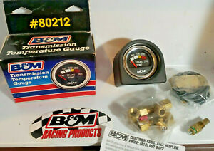 Vintage Nos B M 80212 Automatic Transmission Oil Temperature Gauge Kit Made Usa