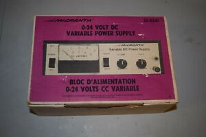 Micronta 0 24 Volt Dc Variable Power Supply