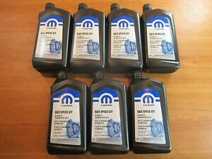 Mopar Chrysler Dodge Jeep Ram 8 9 Speed Automatic Transmission Fluid 7 Quarts