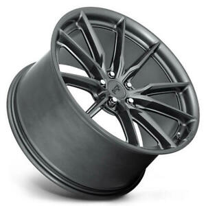 4 18 Niche Wheels M239 Rainier Matte Anthracite Rims b45