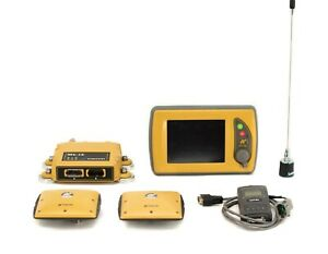 Topcon 3d mc Excavator Gps Kit W Mc i3 Uhf Ii Control Box Gx 60 Display