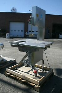 Aew Stainless Steel Meat Band Saw 400m Frame Lhs325796