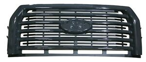 2016 2017 F 150 Front Grille Painted Gray Real Steel Sport Grill F150 Truck Oem